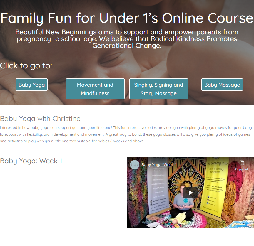 family fun for under 1s